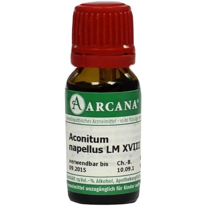 ACONITUM NAPELLUS LM 18 Dilution