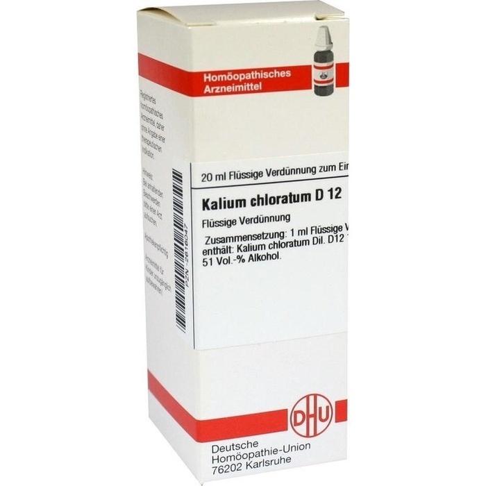 KALIUM CHLORATUM D 12 Dilution