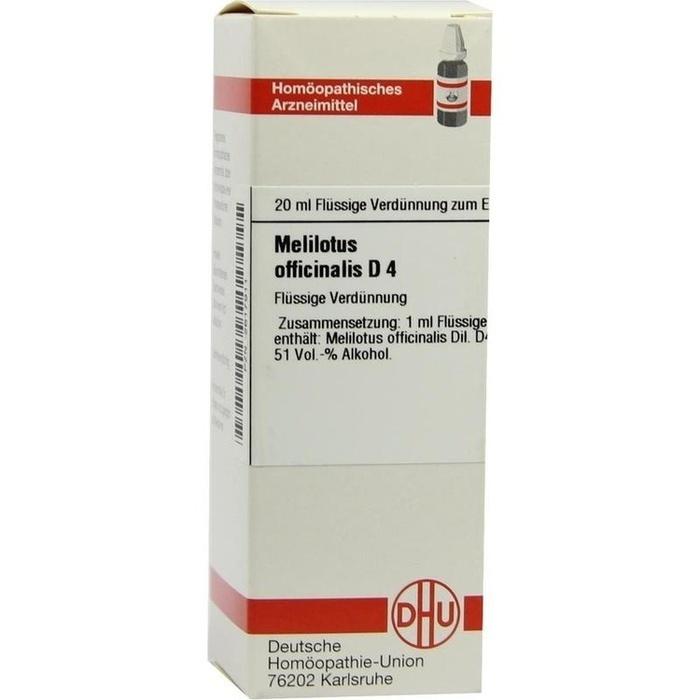 MELILOTUS OFFICINALIS D 4 Dilution