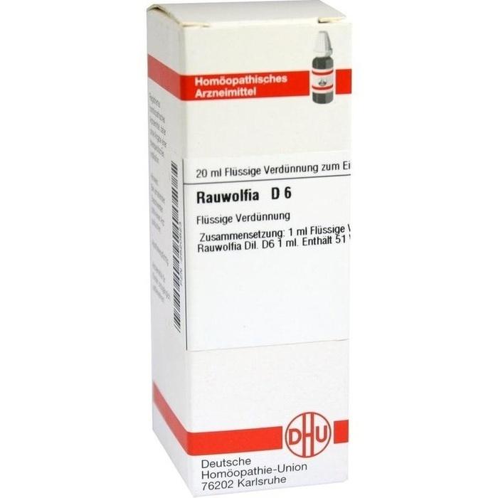 RAUWOLFIA D 6 Dilution