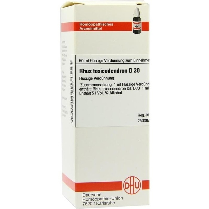 RHUS TOXICODENDRON D 30 Dilution