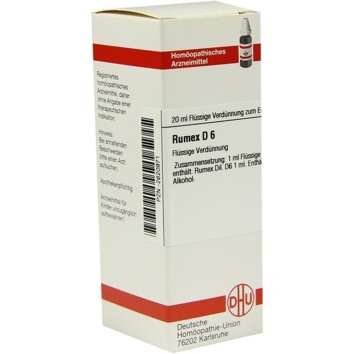 RUMEX D 6 Dilution