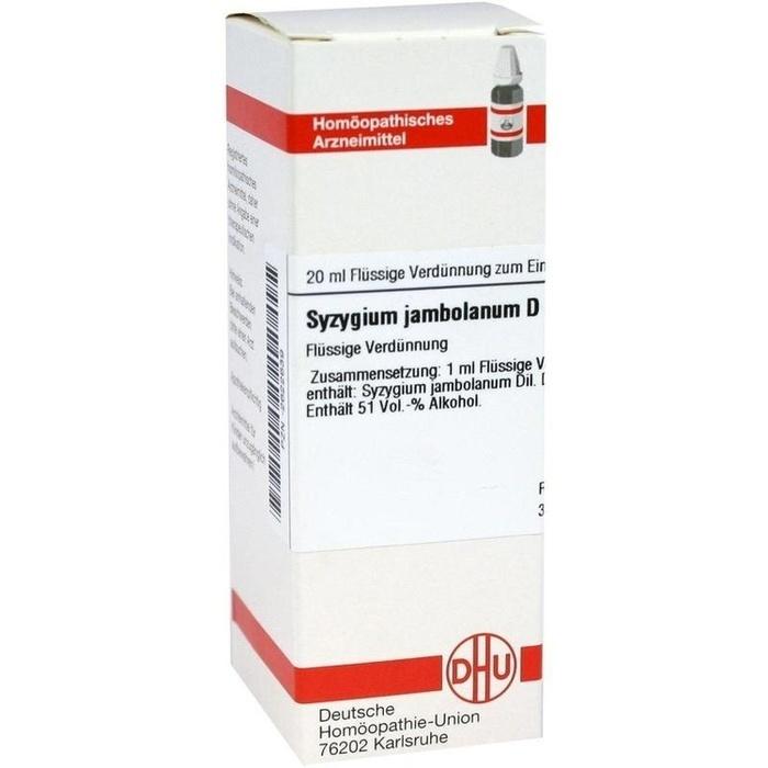 SYZYGIUM JAMBOLANUM D 6 Dilution