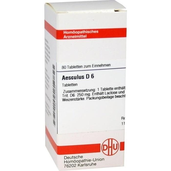 AESCULUS D 6 Tabletten