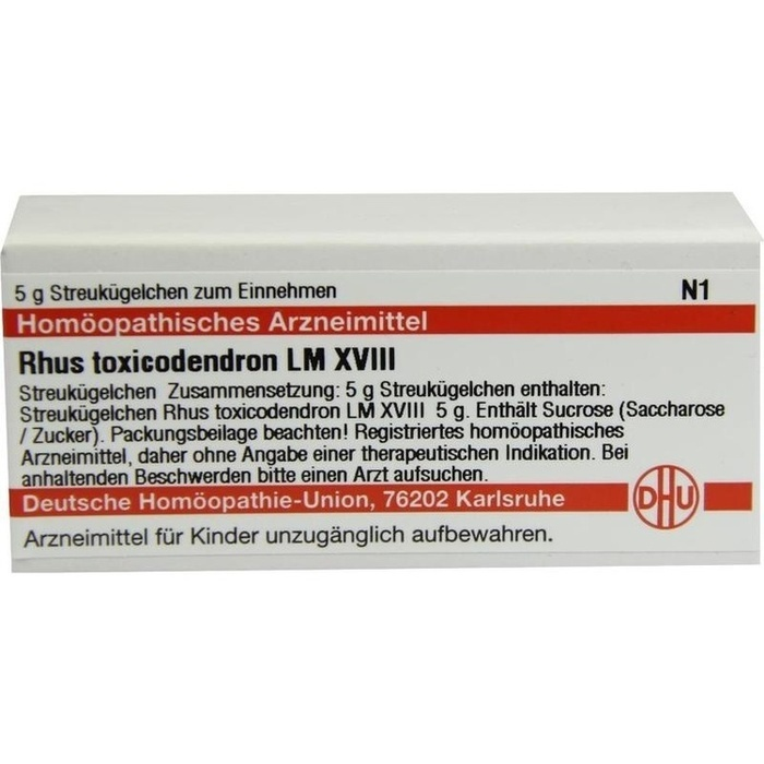 RHUS TOXICODENDRON LM XVIII Globuli