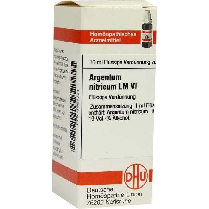 ARGENTUM NITRICUM LM VI Dilution