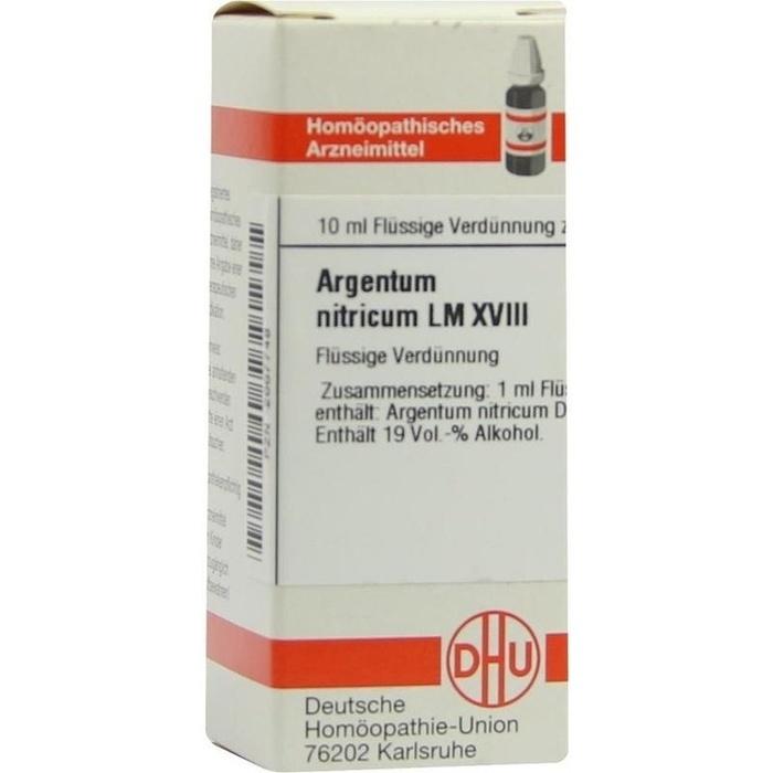 ARGENTUM NITRICUM LM XVIII Dilution