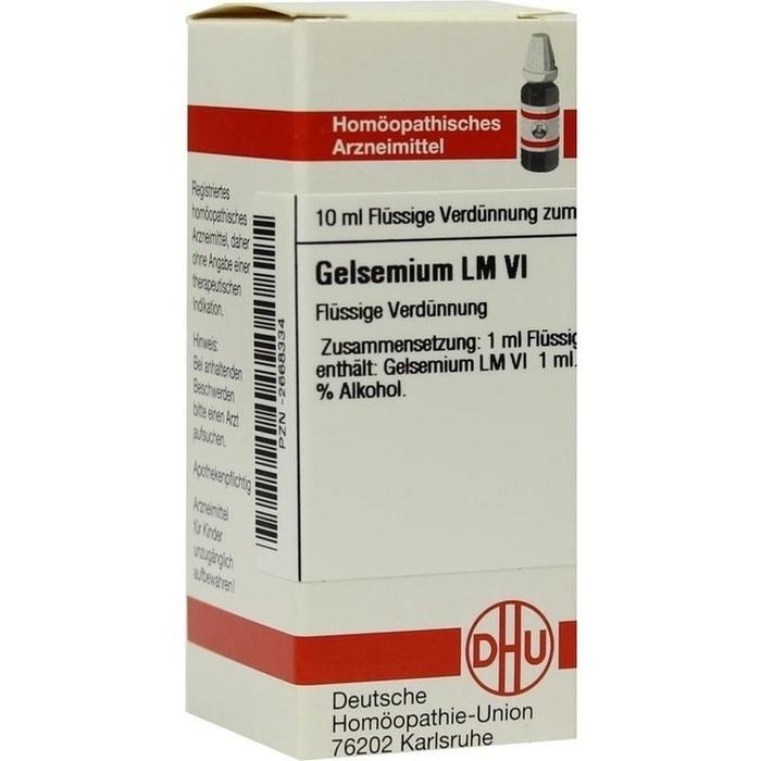 GELSEMIUM LM VI Dilution