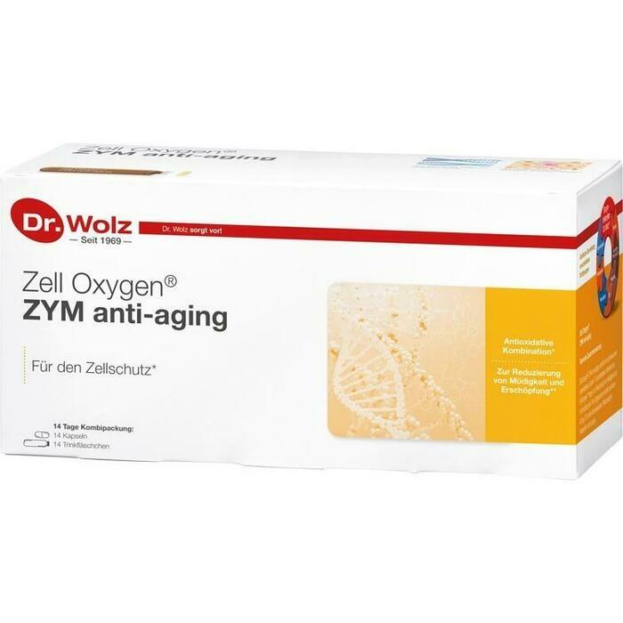 ZELL OXYGEN ZYM Anti-Aging 14 Tage Kombipackung