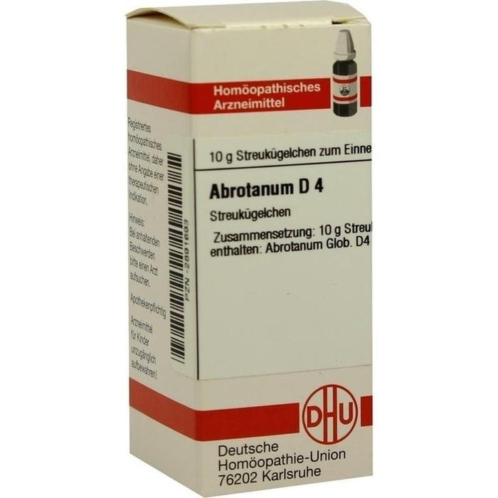ABROTANUM D 4 Globuli