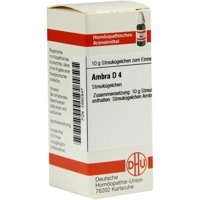 AMBRA D 4 Globuli