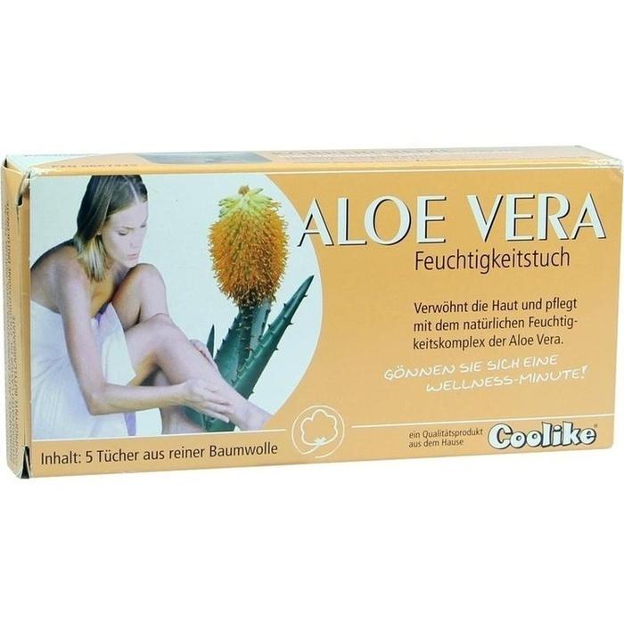 COOLIKE Aloe Vera Feuchtigkeitstuch