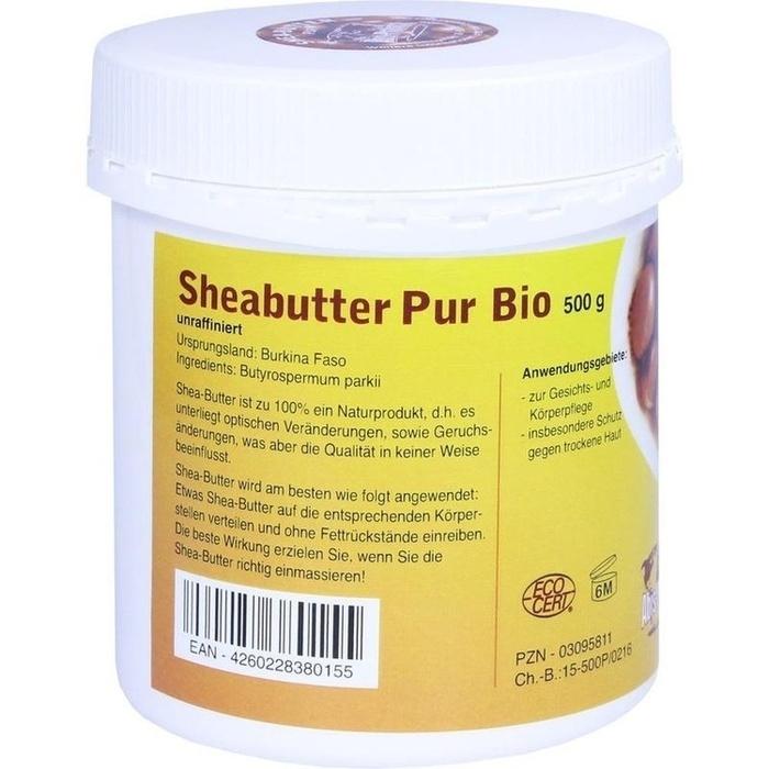 SHEABUTTER Bio Pur unraffiniert Creme