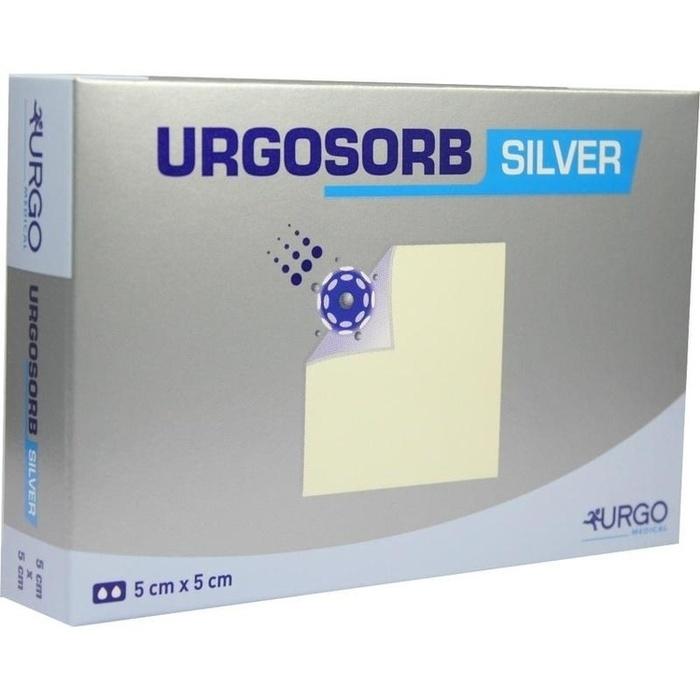 URGOSORB Silver 5x5 cm Kompressen