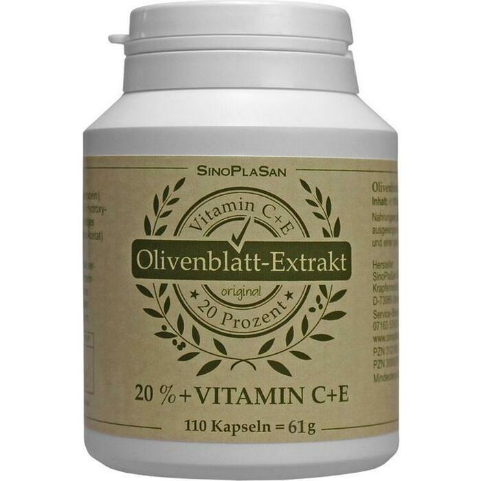 OLIVENBLATT-Extrakt Kapseln