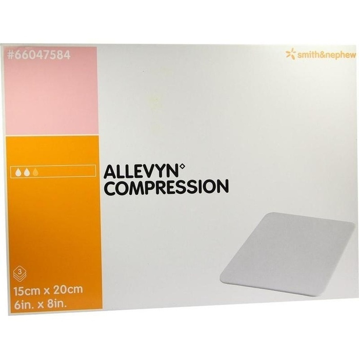 ALLEVYN Compression 15x20 cm hydrosel.Wundauflage