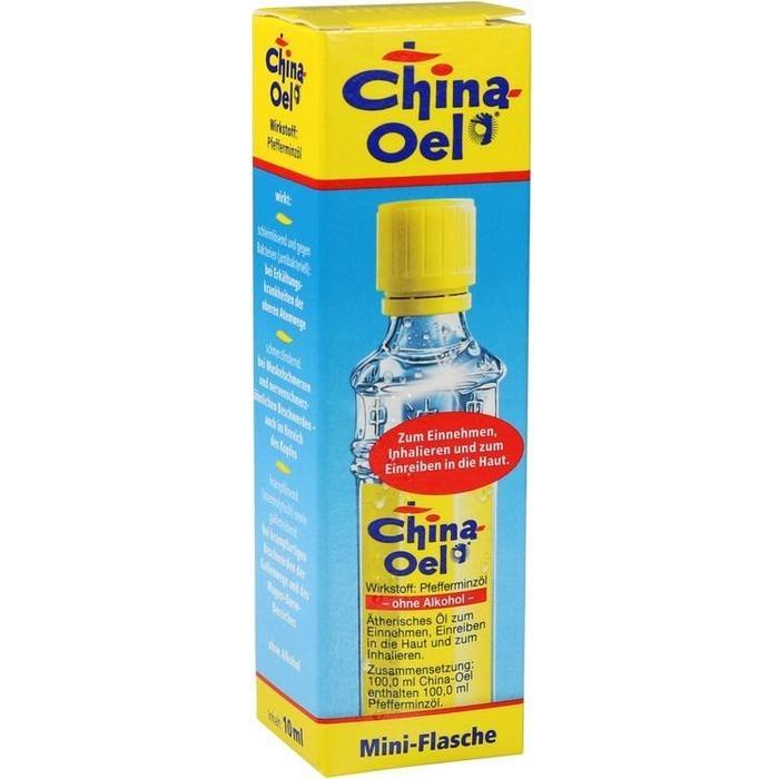 CHINA ÖL ohne Inhalator
