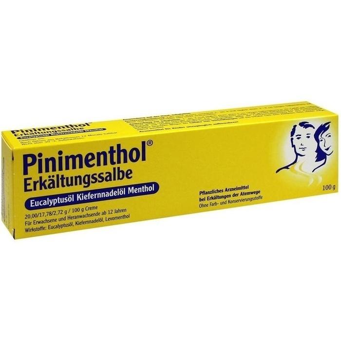 PINIMENTHOL Erkältungssalbe Eucal./Kiefern./Menth.