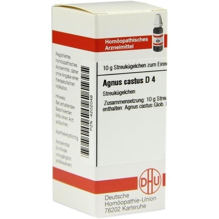 AGNUS CASTUS D 4 Globuli
