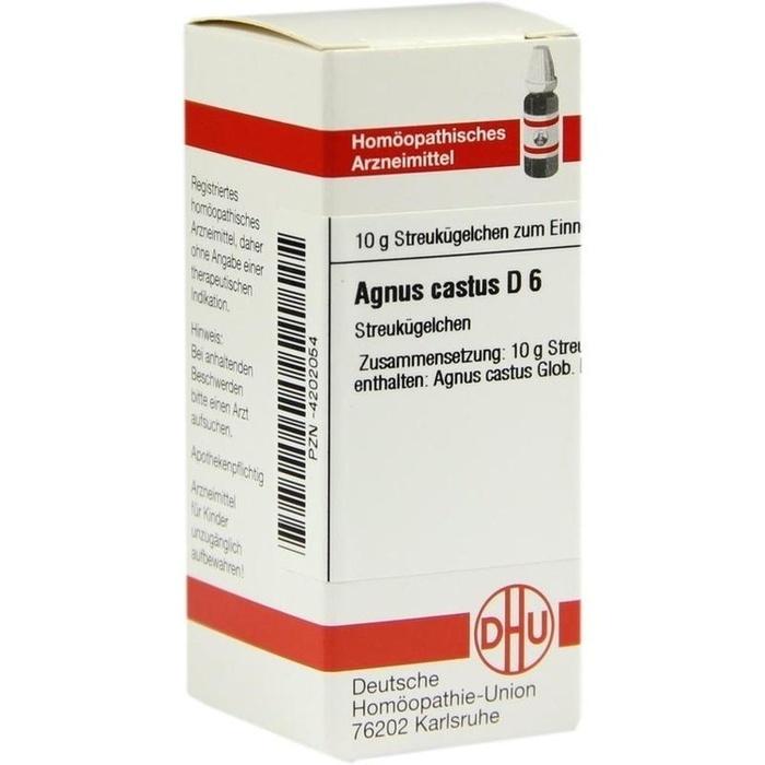 AGNUS CASTUS D 6 Globuli
