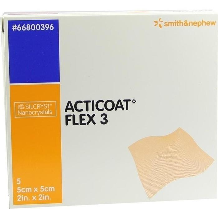 ACTICOAT Flex 3 5x5 cm Verband