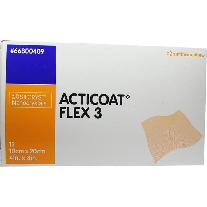 ACTICOAT Flex 3 10x20 cm Verband