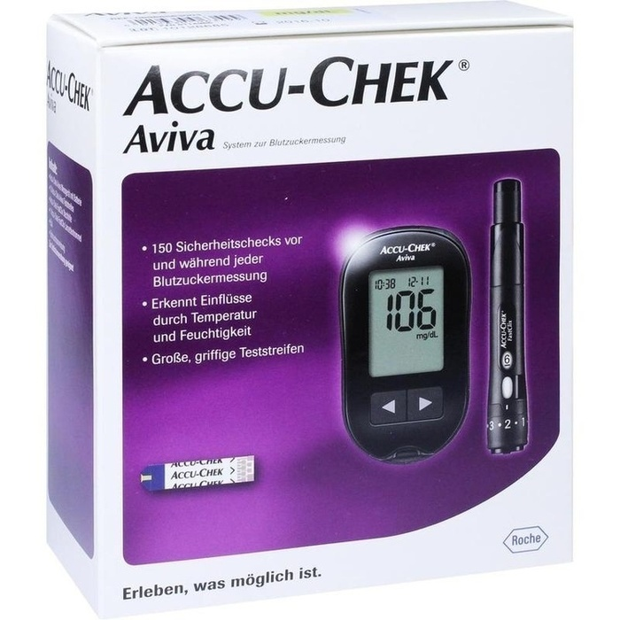 ACCU CHEK Aviva III Set mg/dl