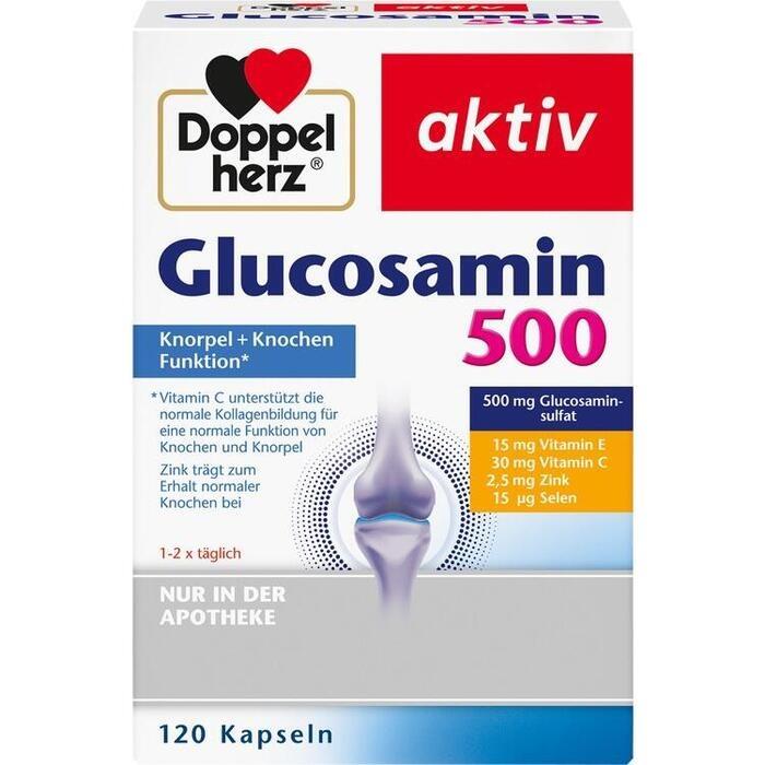 DOPPELHERZ Glucosamin 500 Kapseln