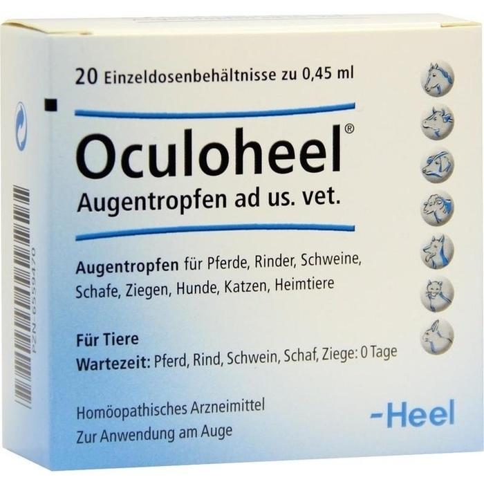 OCULOHEEL Augentropfen ad us.vet.Einzeldosispipet.