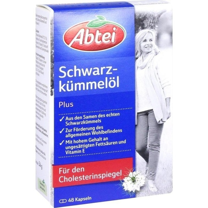 ABTEI Schwarzkümmelöl Plus Kapseln
