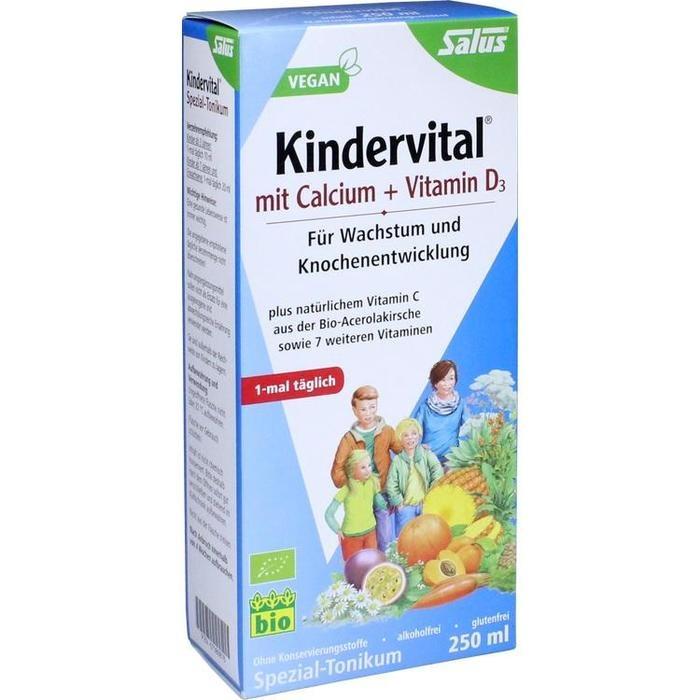 KINDERVITAL mit Calcium+D3 Tonikum Bio Salus