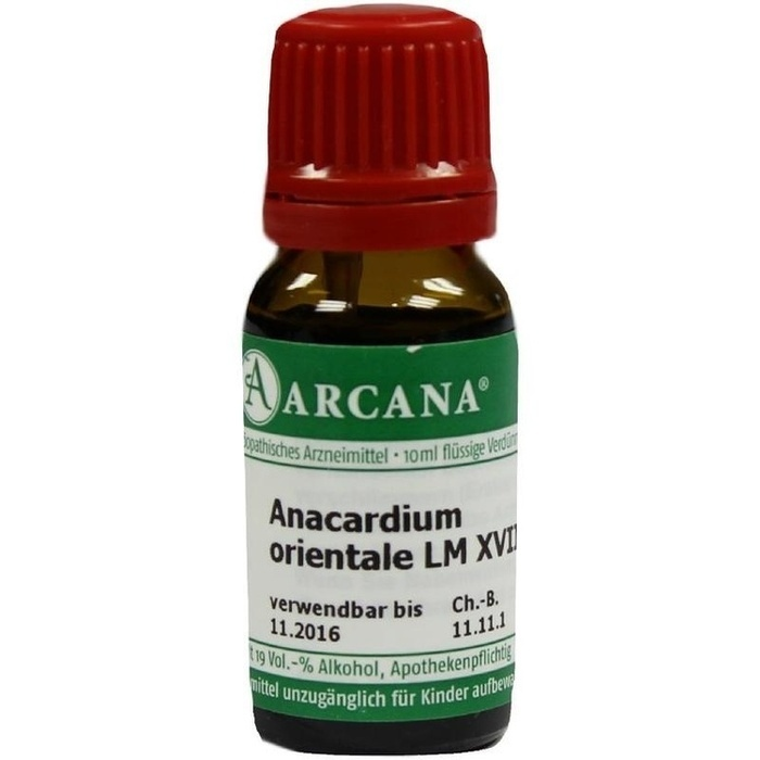 ANACARDIUM ORIENTALE LM 18 Dilution