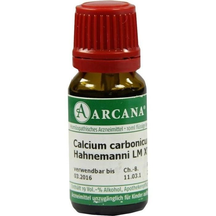 CALCIUM CARBONICUM Hahnemanni LM 18 Dilution