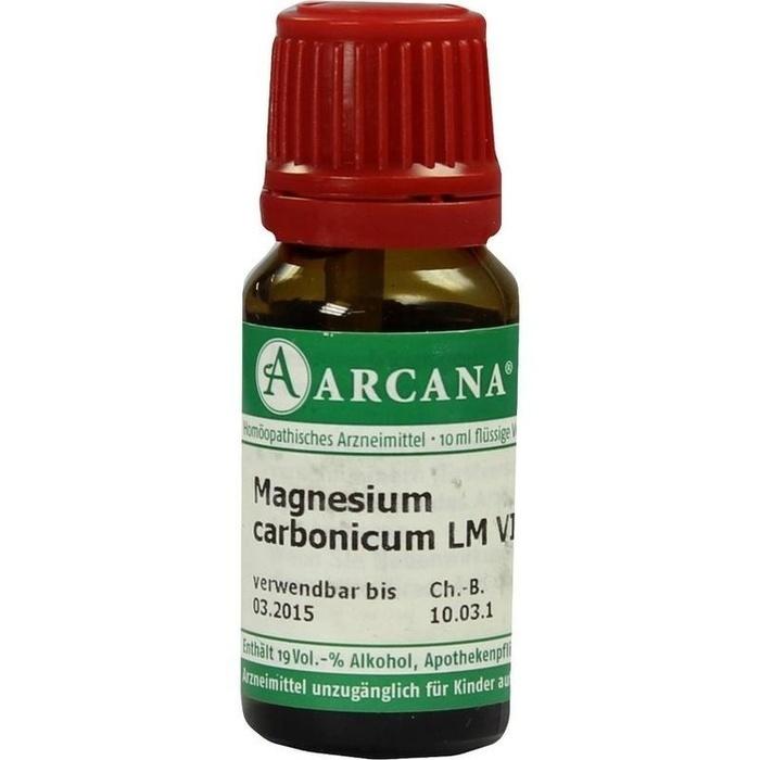 MAGNESIUM CARBONICUM LM 6 Dilution