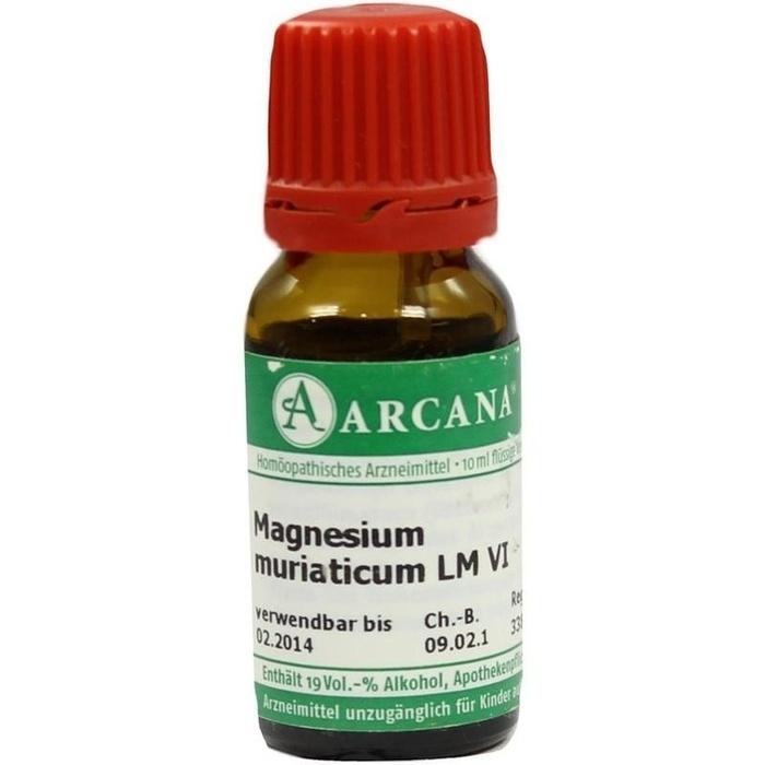MAGNESIUM MURIATICUM LM 6 Dilution