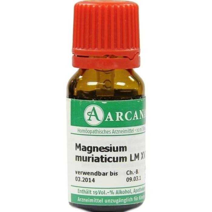 MAGNESIUM MURIATICUM LM 18 Dilution