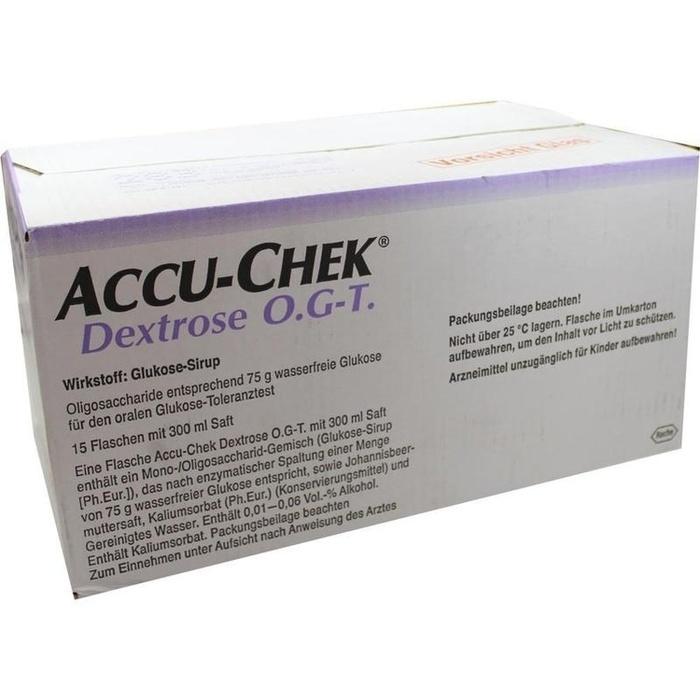 ACCU CHEK Dextrose O.G.-T. Saft