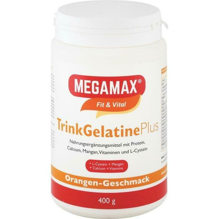 MEGAMAX Trinkgelatine Pulver