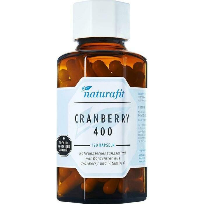 NATURAFIT Cranberry 400 Kapseln