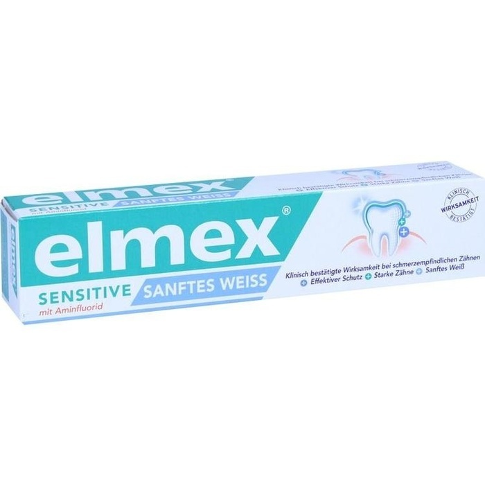 ELMEX SENSITIVE sanftes Weiß Zahnpasta