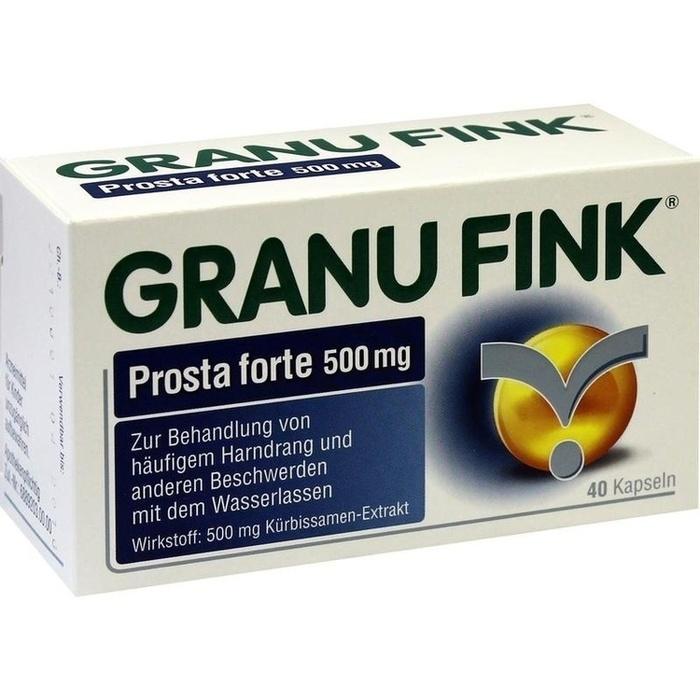 GRANU FINK Prosta forte 500 mg Hartkapseln