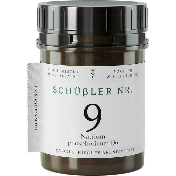 SCHÜSSLER Nr.9 Natrium phosphoricum D 6 Tabletten