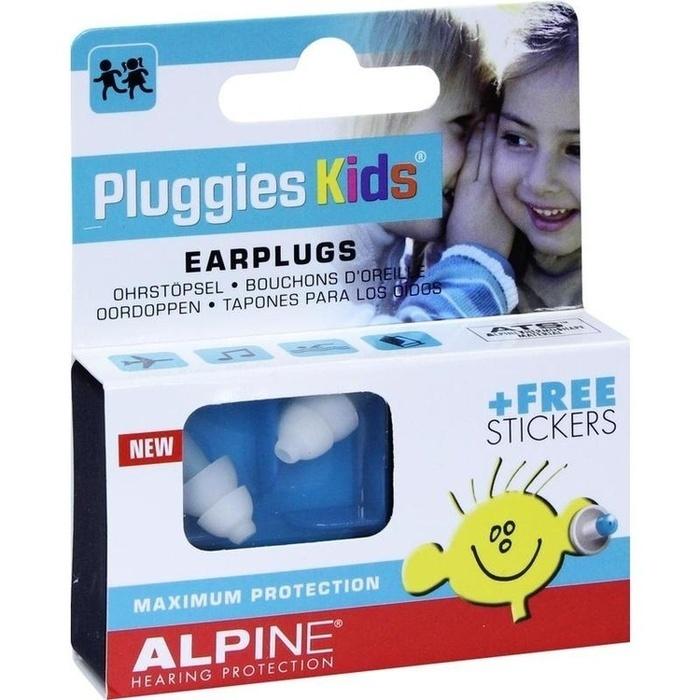 ALPINE PLUGGIES Kids Ohrstöpsel