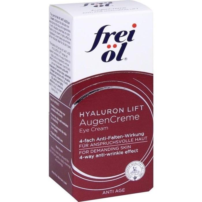 FREI ÖL Anti-Age Hyaluron Lift AugenCreme