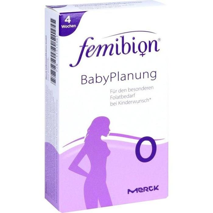 FEMIBION BabyPlanung 0 Tabletten