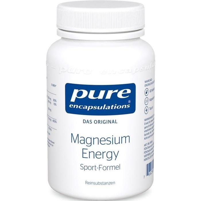 PURE ENCAPSULATIONS Magnesium Energy Kapseln