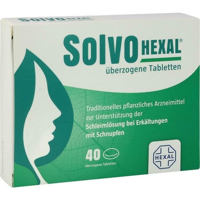 SOLVOHEXAL überzogene Tabletten