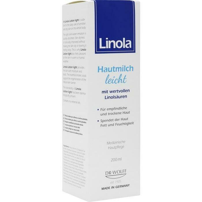 LINOLA Hautmilch leicht