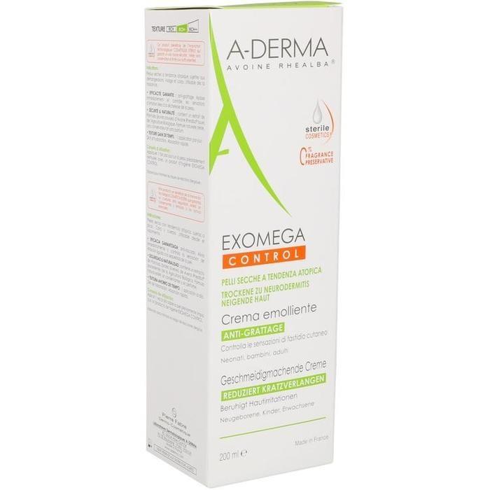 A-DERMA EXOMEGA CONTROL geschm.machen.Creme steril