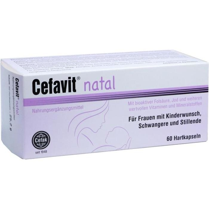 CEFAVIT natal Hartkapseln